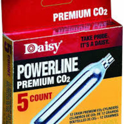 Daisy Outdoor Products Powerline Premium CO2 5ct