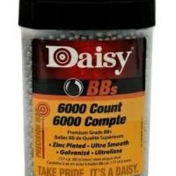 Daisy .177 Cal BB's 4.5mm 6000ct
