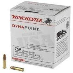 Winchester Dynapoint .22LR 500 rds