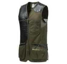 Beretta Eco Leather Sporting Vest Dark Olive XXXL