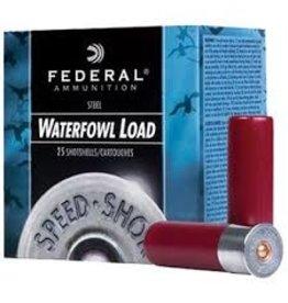 """Federal Federal Speed-Shok 12GA 3"""" 1550FPS 1 1/8oz 2 Shot Steel Waterflow 25x10 ct"""