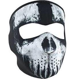 Zan Zan Headgear Skull Ghost Neoprene Face Mask