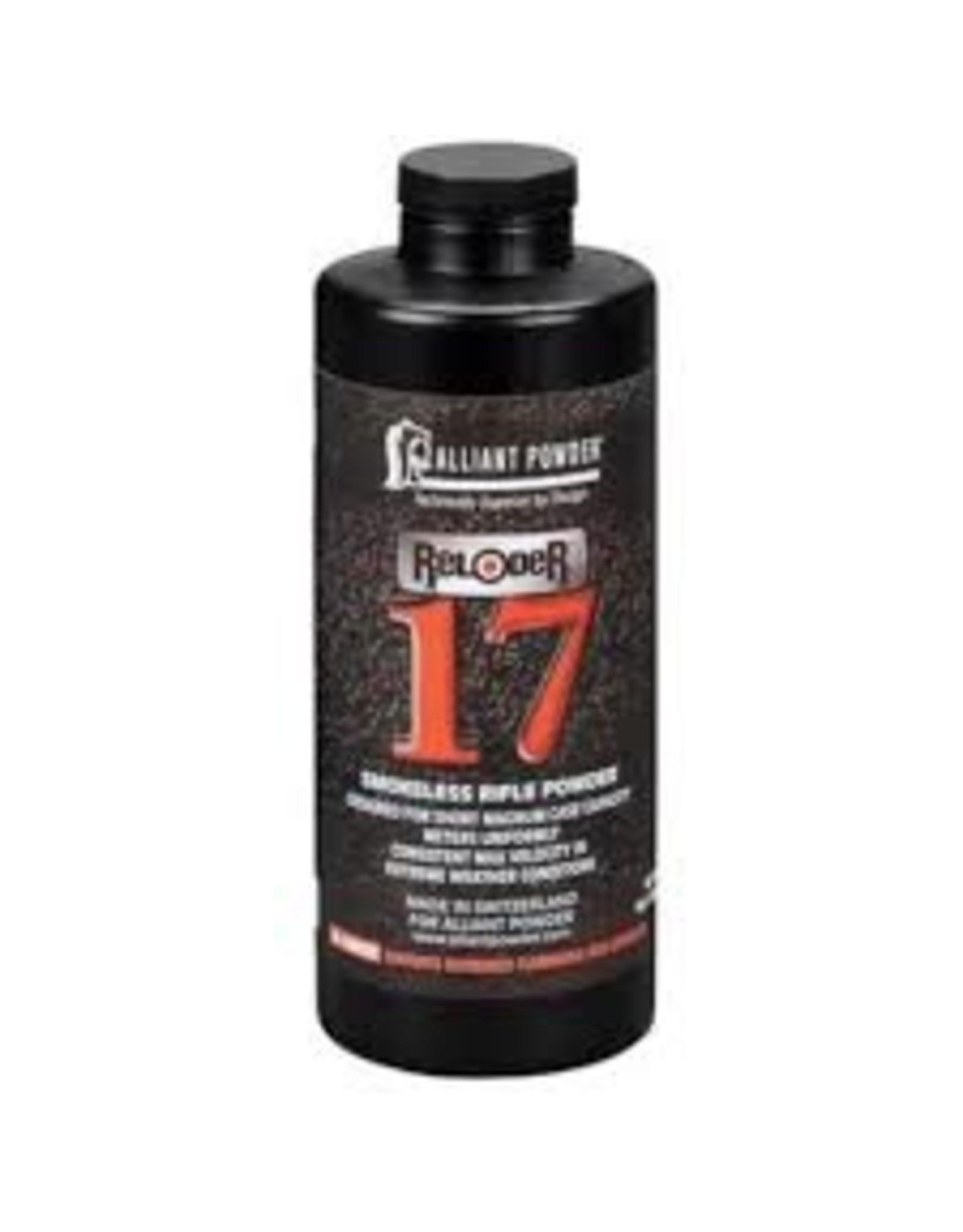 Alliant Powder Alliant Powder  Reloder 17 Smokeless Rifle Powder 1LB