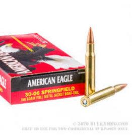 American Eagle Federal 30-06 Springfield 150GR FMJ