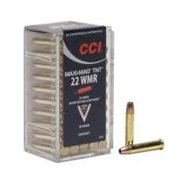 CCI Maxi Mag TNT Rimfire Ammo 22 Win Mag 2200 FPS 50 Rounds
