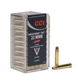 CCI CCI Maxi Mag TNT Rimfire Ammo 22 Win Mag 2200 FPS 50 Rounds