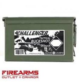 "Challenger Challenger 12GA 2-3/4"" 00 Buck 175 Pack Magnum"