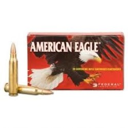 Federal American Eagle 223 Rem 55GR FMJ 100RDS