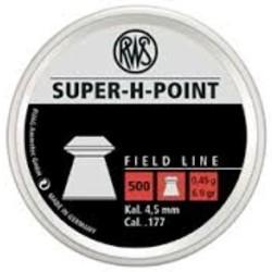 RWS .177 Super-H-Point Fieldline Pellets 500