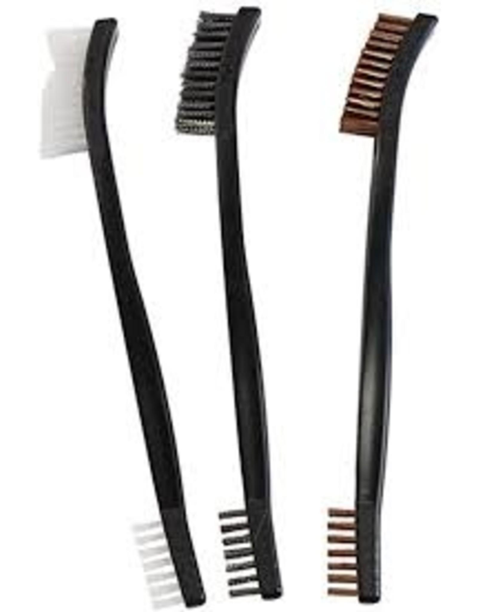 Birchwood casey Birchewood Casey Utility Brushes Bronze, Nylon, Stainless Steel