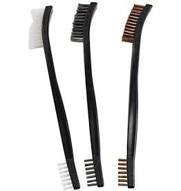 Birchwood casey Birchewood Casey Utility Brushes Bronze, Nylon, Stainless Steel