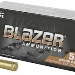 CCI Blazer Brass Centerfire Pistol Ammo 9mm Luger 50x20ct
