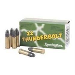Remington ThunderBolt Rifle Ammo 22LR 50ct