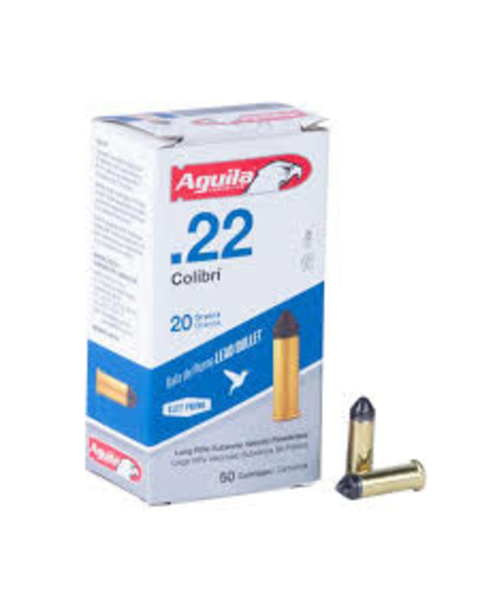 Aguila Aguila .22 Colibri  20gr 50 ct