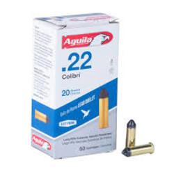 Aguila .22 Colibri  20gr 50 ct