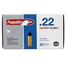Aguila .22LR Super Colibri 590fps 20gr 50ct