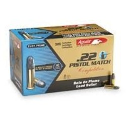 Aguila .22LR Match Pistol 40GR 50ct