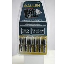 Allen bullet points 21/64 100gr