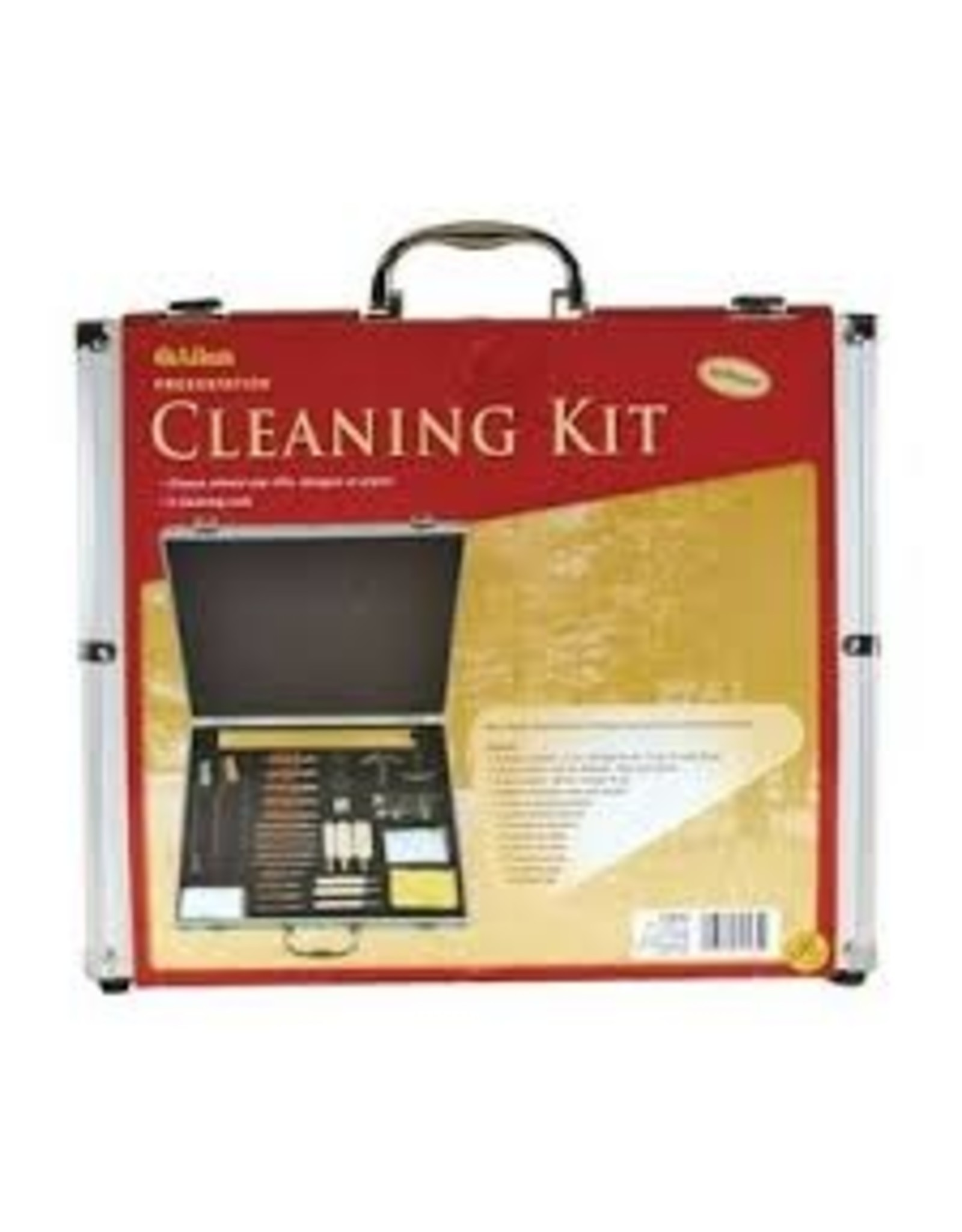 Allen Allen Delux Cleaning Kit Aluminum Box 60 Pieces
