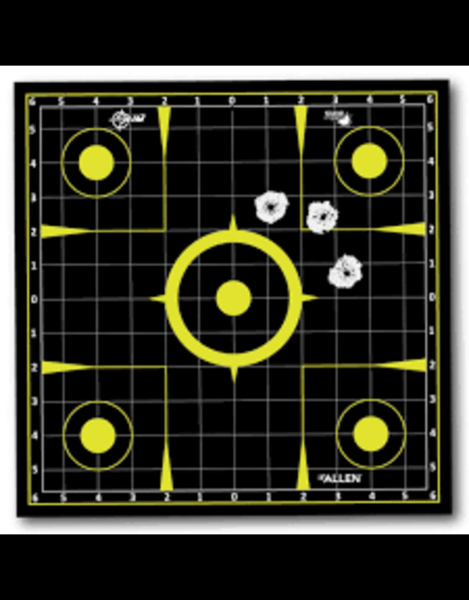 Allen Allen EZ Aim Pull-N-Shoot Splash 12x12 Sight-In Roll 8 Pieces