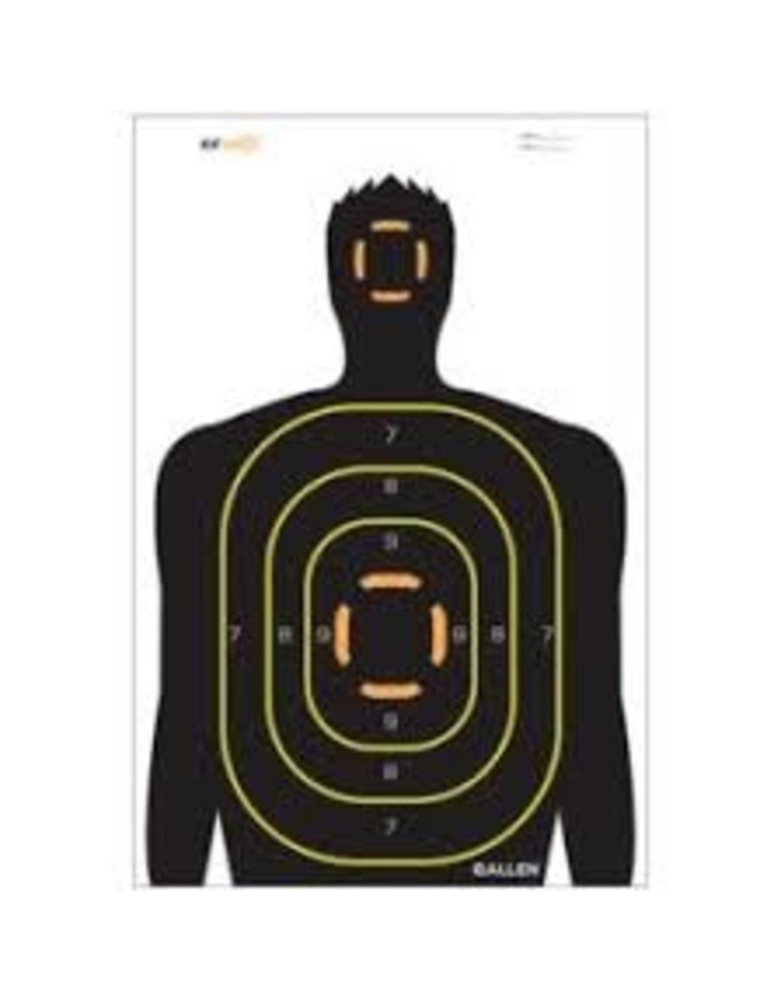 Allen Allen EZ Aim Non-Adhesive 12x18 Silhouette Target 5 Pack