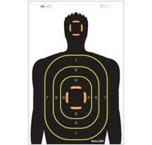 Allen EZ Aim Non-Adhesive 12x18 Silhouette Target 5 Pack