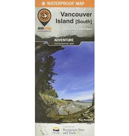 BRMB BRMB Vancouver Island South BC Waterproof Map
