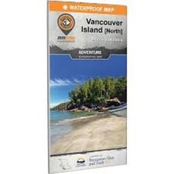 BRMB Vancouver Island North BC Waterproof Map