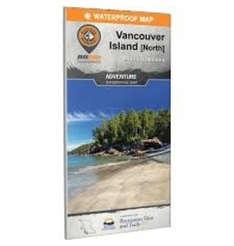 BRMB BRMB Vancouver Island North BC Waterproof Map