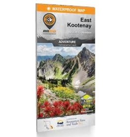 BRMB BRMB East Kootenay BC Waterproof Map