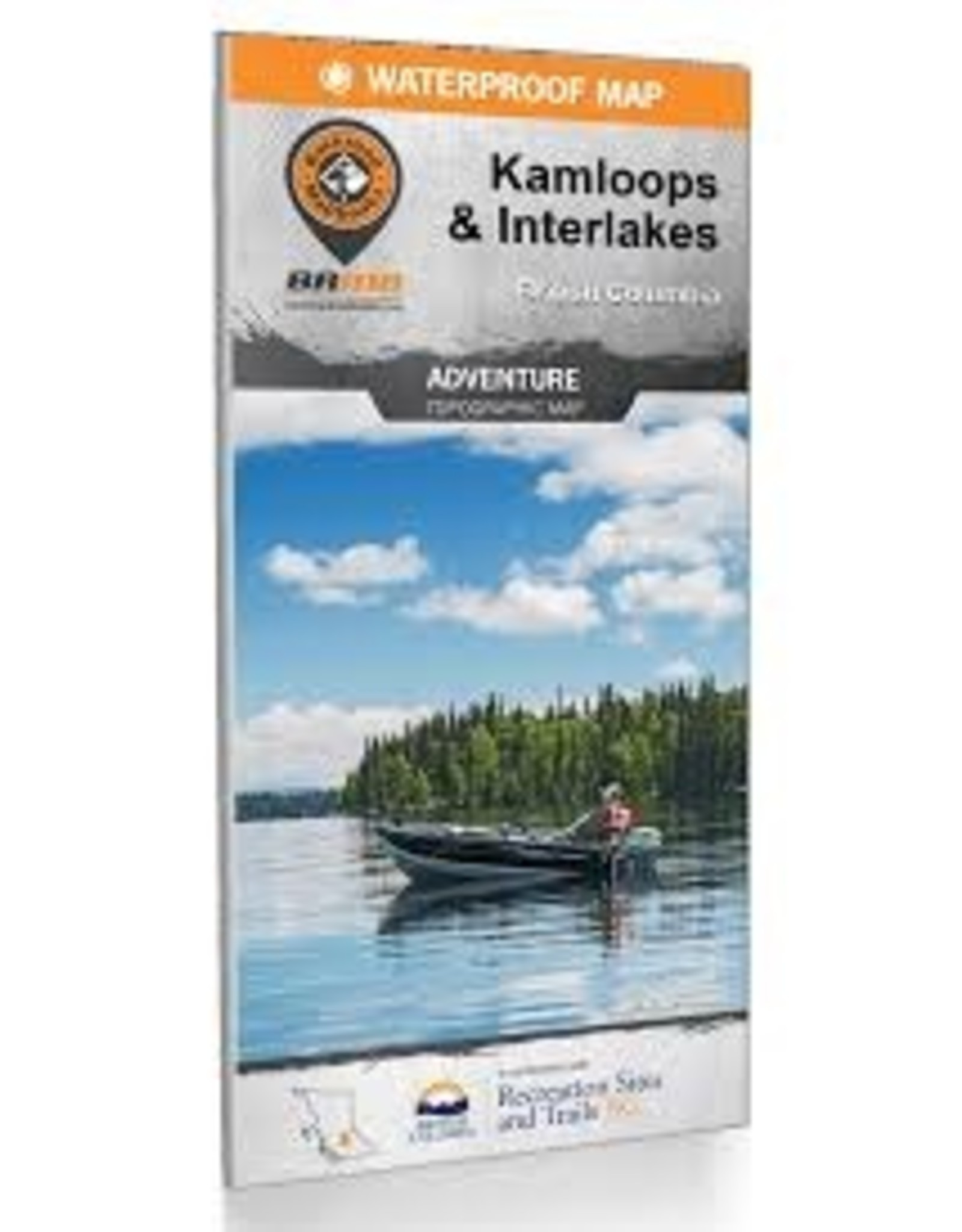BRMB BRMB Kamploops & Interlakes BC Waterproof Map