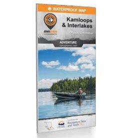 BRMB BRMB Kamploops & Interlakes BC Waterproof Map