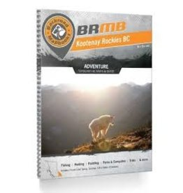 BRMB BRMB Kootenay Rockies BC Spiral 8th Edition