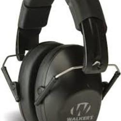 Walkers Pro-Low Profile Folding Muffs Black