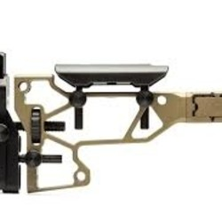 MDT Skeleton Rifle Stock-Fixed Interface SRS Standard-Cerakote FDE