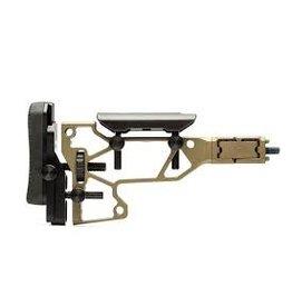MDT MDT Skeleton Rifle Stock-Fixed Interface SRS Standard-Cerakote FDE