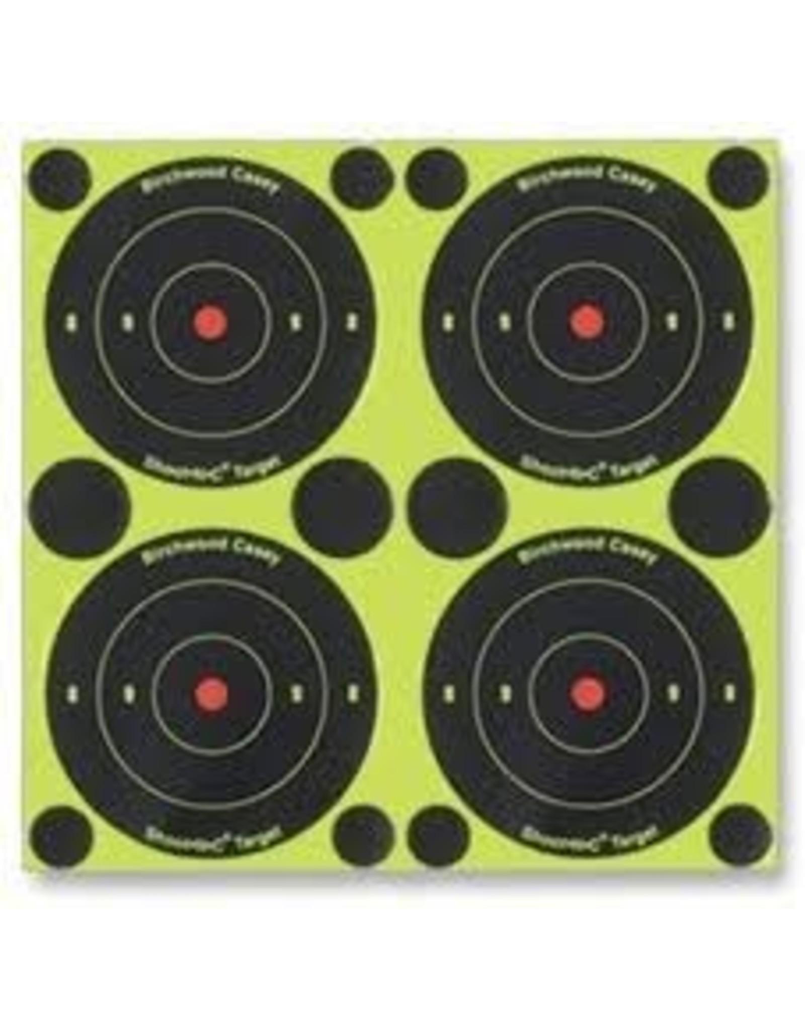 """Birchwood casey Birchwood Casey Shoot-N-C Bullseye 3"""" Target 240 pack"""