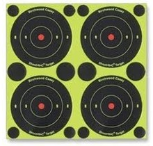 """Birchwood Casey Shoot-N-C Bullseye 3"""" Target 240 pack"""