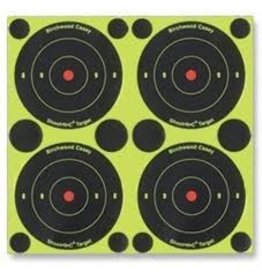 "Birchwood casey Birchwood Casey Shoot-N-C Bullseye 3"" Target 240 pack"