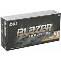 CCI Blazer Ammo 9mm Luger 124Gr FMJ 50ct X 20