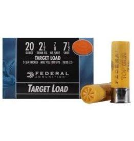 Federal Federal 20ga target load 2 3/4 7/8oz