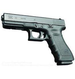 Glock Glock G22 .40 2x10 round mag Black USED