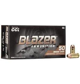 CCI/Blazer CCI Blazer Centerfire Pistol Ammo 40 S&W 165GR 50ct