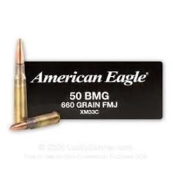 American Eagle 50 BMG 660gr