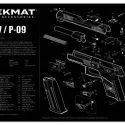"""TekMat TEK-R17-CZ75 Gun Cleaning Mat 11""""x17"""""""