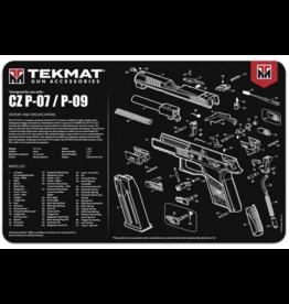 """tekMat TekMat TEK-R17-CZ75 Gun Cleaning Mat 11""""x17"""""""