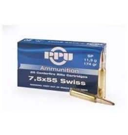 PPU PPU 7.5X55 Swiss SP 174GR