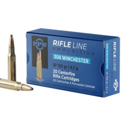 PPU PP3081 Rifle Ammo .308 WIN SP 150gr