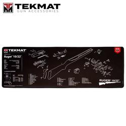 """TekMat TEK-R44-1022 Gun Cleaning Mat, 15""""x44"""", Ultra 44 - Ruger 10/22 -Gun Cleaning Mat"""