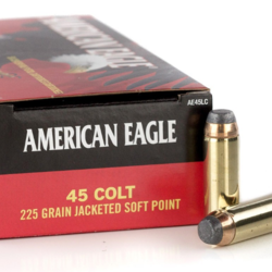 Federal American Eagle Pistol Ammo 45 Colt 225Gr Jacketed SP 50ct